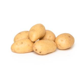 Kartoffeln Raclette gewaschen