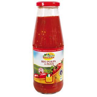 Tomaten kleingehackt (Polpa)