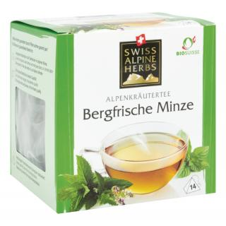 Tee Bergfische Minze 14x1g