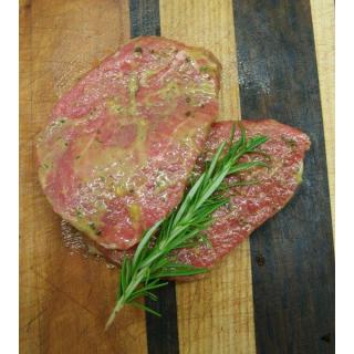 Beef Knoblauchplätzli 2 Personen 300g-400g